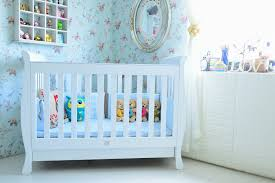 White Sleigh Cot Bed Bubs Gallery Sunshine Sleigh Cot With Drawer White