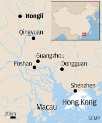 Dongguan China Map by In China U0027s Richest Province A Yawning Gap Exists Between The