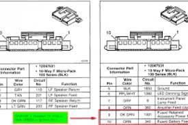 2004 gmc sierra radio wiring diagram wiring diagram