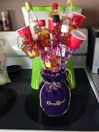 mini liquor boquet my finished projects pinterest liquor
