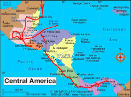 map usa central america map usa and central america