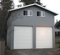 How To Build A Two Story Garage by Two Story Garage Kits Plans