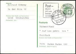 Baden Baden Postleitzahl Philaseiten De Nachträglich Entwertet