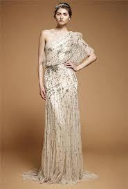 Greek Style Wedding Dresses One Sleeve Greek Style Wedding Dress Bridebug Bridebug