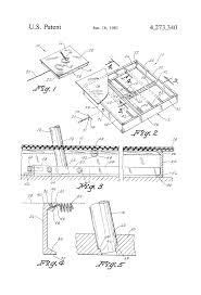 patent us4273340 horseshoe stake support apparatus google patents