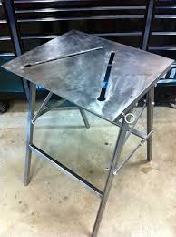 diy portable welding table folding welding table build pinterest welding table welding