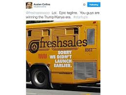 Political Ads Banned From San Francisco Buses Trains Freshdesk Zoho Takes On Salesforce In Its Homeground San Francisco
