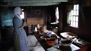 daggett saltbox house kitchen from 1750 pt 2 greenfield village