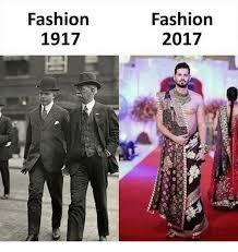 Fashion Meme - fashion 1917 fashion 2017 fashion meme on me me