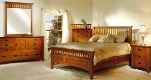bedroom design amish mission furniture solid wood bed frame