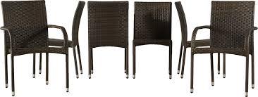 Patio Wicker Dining Set - 7 piece viva rattan dining set u0026 reviews joss u0026 main