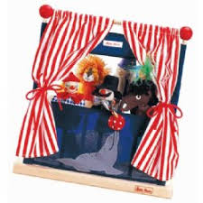 circus puppets babynaturopathics kathe kruse circus wooden theater with
