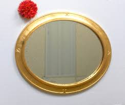 24 x 20 oval wall mirror mirror gold oval