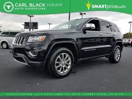 jeep cherokee black 2015 pre owned 2015 jeep grand cherokee limited sport utility in hiram