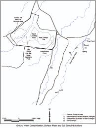 Map Of Monument Valley Former Uranium Mill And Tailings Site Cane Valley Jpg