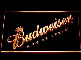 cheap light up beer signs budweiser beer light up sign beer signs for man cave light signs cave