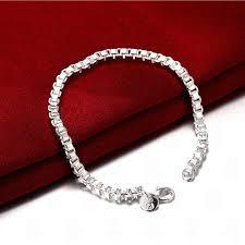 box chain bracelet images 925 sterling silver box chain bracelet blown biker jpg