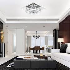 plafonnier pour chambre à coucher mabor plafonnier le cristal le de plafond acier inoxydable