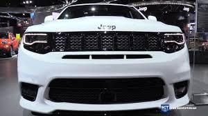 srt8 jeep interior 2017 jeep grand srt exterior and interior walkaround