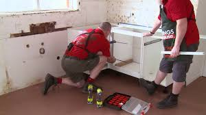 how to install kitchen base cabinets how to install u shaped kitchen cabinets diy at bunnings youtube