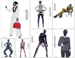 editorials aluad deng anei for marie claire south africa jennifer