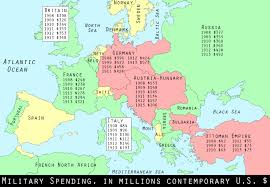 Europe Map During Ww1 Wwi Centennial The Arms Race Shifts Into High Gear Mental Floss