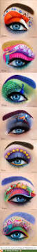 Purple Halloween Eye Makeup by Best 25 Crazy Eye Makeup Ideas On Pinterest Disney Inspired