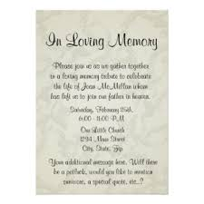 funeral service announcement wording image result for memorial invitation templates memorial