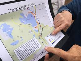 Michigan Prescription Maps by Residents Fear Gas Pipeline Near Silver Lake Will Put Lives In