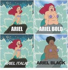Ariel Meme - ariel meme by thebeaconproject memedroid
