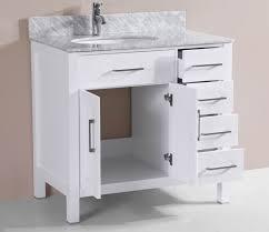 18 Deep Bathroom Vanity by Bathroom 30 Inch Bathroom Vanity With Marble Vanity Top Plus