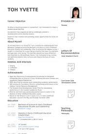 preschool teacher resume samples visualcv resume samples database