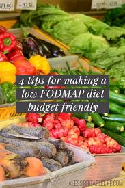 Map Diet Tips For Making A Low Fodmap Diet Budget Friendly A Less