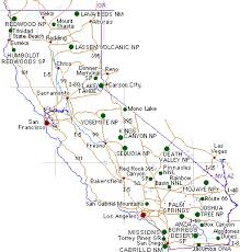 california map national parks yosemite national park hiking trail pictures