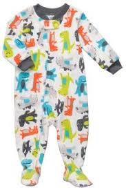 s navy guitar fleece blanket sleeper footed pajamas 24