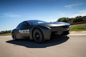 hydrogen fuel cell car toyota bmw unveils the first fuel cell prototype resulted from
