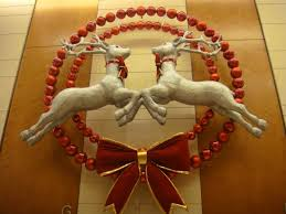 Flying Reindeer Christmas Decorations by My Holiday Designs For The Landmark Prestonbailey Com