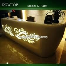 Spa Reception Desk Spa Reception Desk High End Led Spa Front Desk Carved Reception