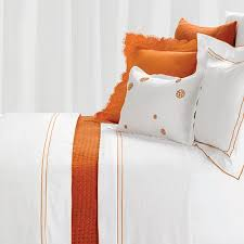 Orange And White Comforter Orange And White Comforter Home Design U0026 Architecture Cilif Com