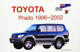 toyota prado 96 02 owners handbook amazon co uk 9781869760465 books
