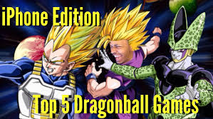 5 dragonball games iphone ipad android