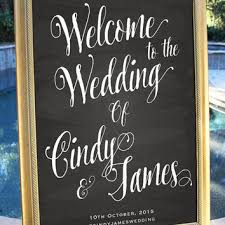 diy wedding signs shop wedding chalkboard welcome on wanelo