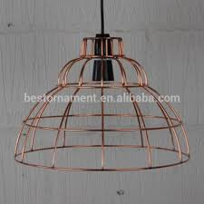 wire pendant light fixtures industrial vintage metal wire pendant light cafe bar cage lighting