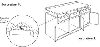 best screws for attaching cabinets together how to install mod cabinetry modern kitchen design