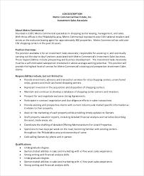 Sales Associate Job Resume by Realtor Job Description Real Estate Agent Job Description Salary