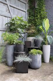 idee de jardin moderne pot de fleur design exterieur pas cher galerie avec chambre enfant