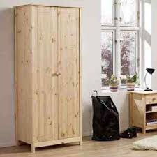 Unfinished Pine Bedroom Furniture by Malmo 2 Door Wardrobe Untreated Pine Simply Furniture