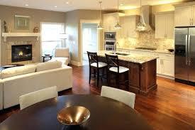 open floor kitchen designs small open concept kitchen best small open plan kitchen living room