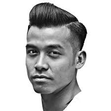 hairstyles for foreheads that stick out on a woman the low razor fade haircut