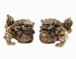 gold foo dogs 7 best foo dogs images on foo dog animal statues and